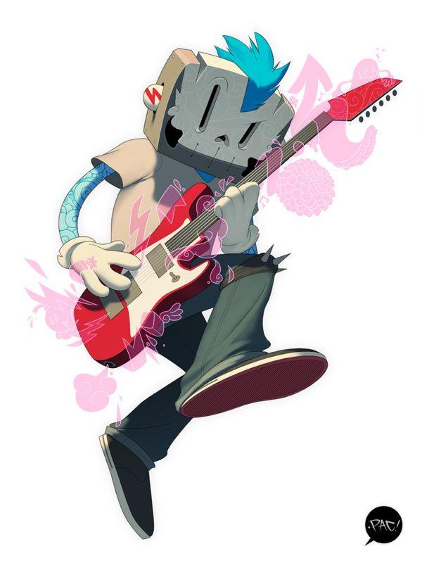 Punk Rocker on Behance