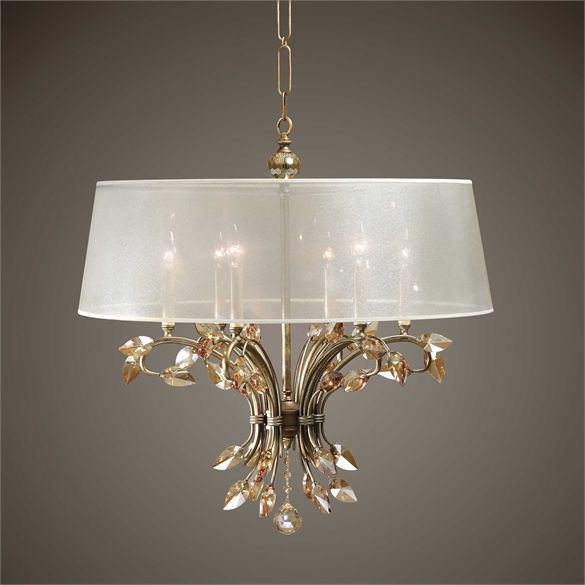 Uttermosts light fixtures combine premium quality materials with unique high style design