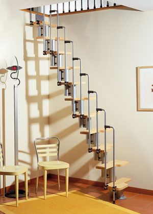 The Karina modular space saver stairkit is a unique and stylish solution for narrow access areas, such as lofts or attics. The Karina's ingenious supporting structure allows complete flexibility in the application, and the Beachwood alternating style treads are appropriately shaped and staggered to guarantee maximum utilization of space, without compromising functionality. Complete with one side handrail, a second side rail is available for those installations not going against a wall. In…