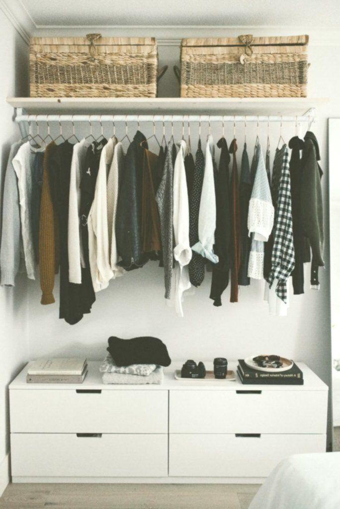 Diy Offenes Konzept Schrank Stauraum Fur Kleine Schlafzimmer