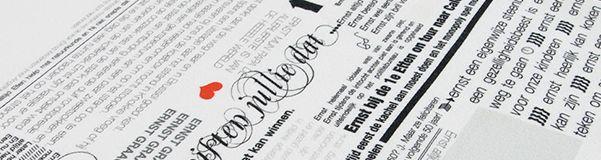 Berichten - Tafellaken 50-jarige verjaardag | Zinnen op Linnen