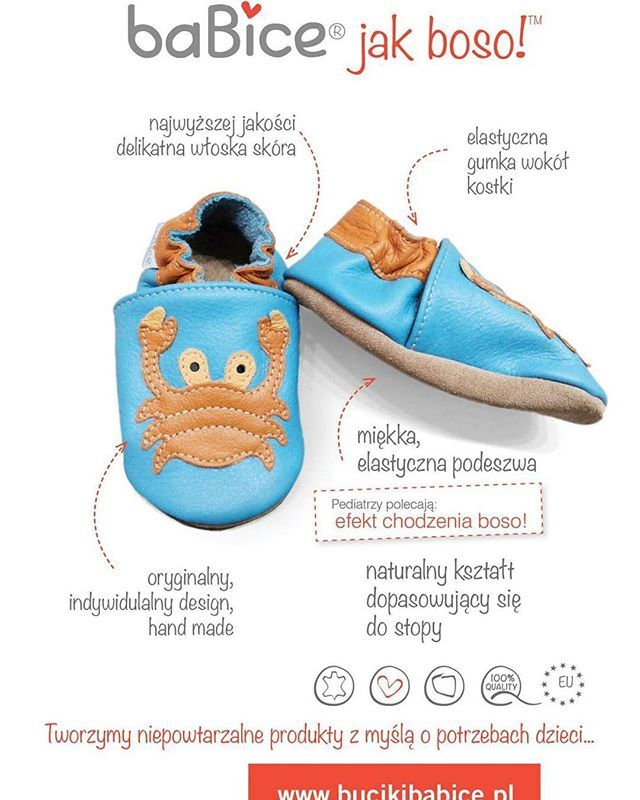 #crab #slippers #kidsplay #softsoles #kidsstyle #kidsshoes #babyproduct #highquality #italianleather #handmade #kidsshoes #babyshoes #madeinpoland #madeineurope #babyshoes #blue #orange #howawsome #letsplay #summer #beach #sea #healthy #feet #walkingbarefoot #barefoot #musthave