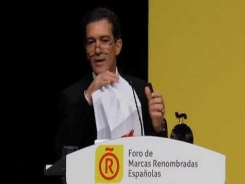 ▶ Antonio Banderas, Embajador de la Marca España.mov - YouTube