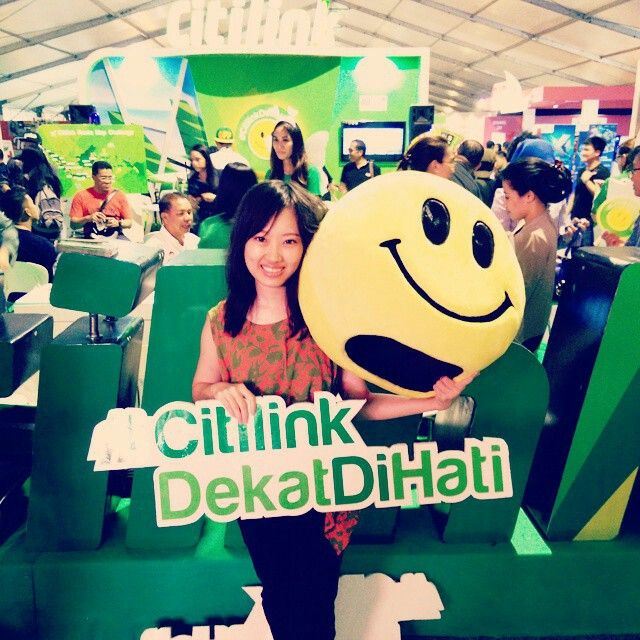 Event at java jazz festival 2015 #citilinkdekatdihati
