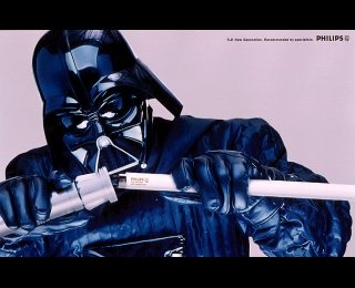 Philips - Darth Vader - Advert