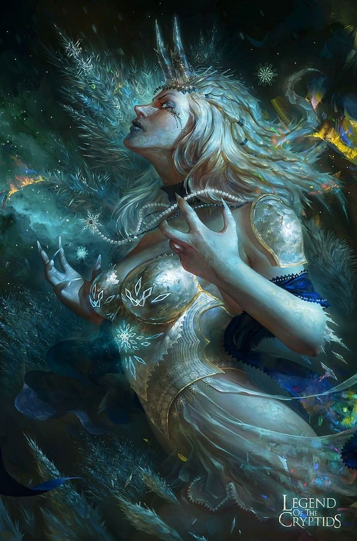 Legend of the cryptids — Princesa de hielo legend of the cryptids