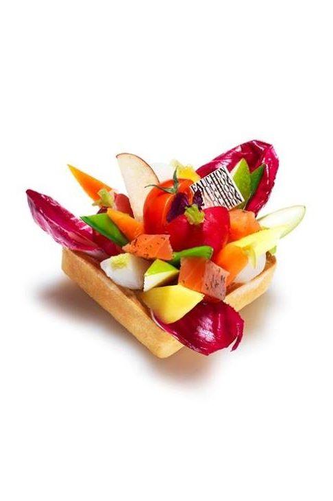 Vegetable or salad tart