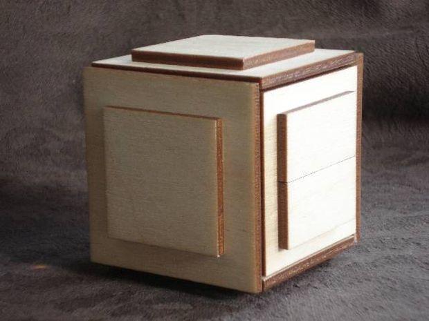 puzzle box diy