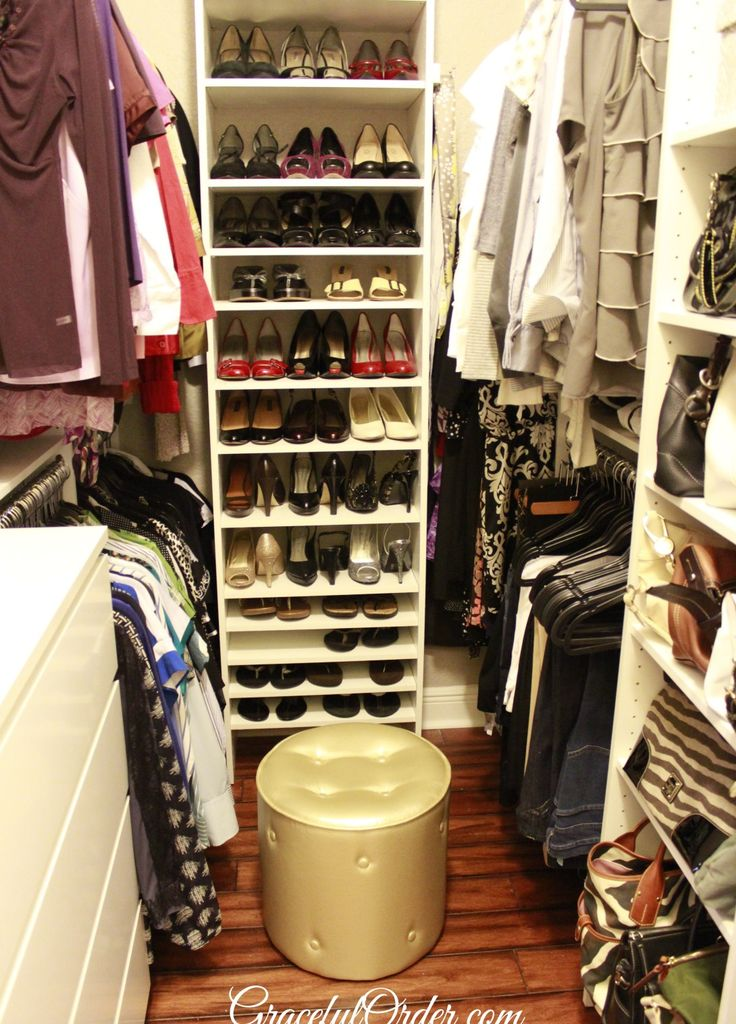 8 best walk in closet images on pinterest walk in. Black Bedroom Furniture Sets. Home Design Ideas