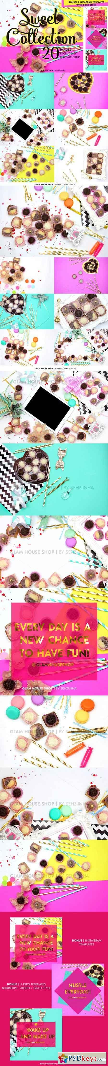 Sweet Collection Styled Stock Photos 928386