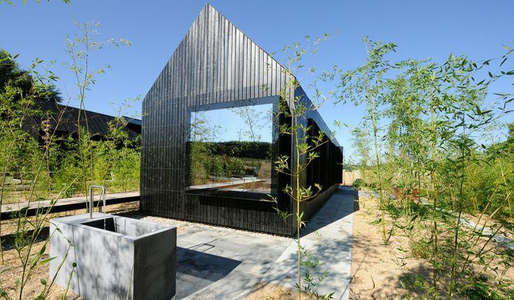 Rottaler longhouses bad birnbach germany firm format elf for Design hotel hofgut