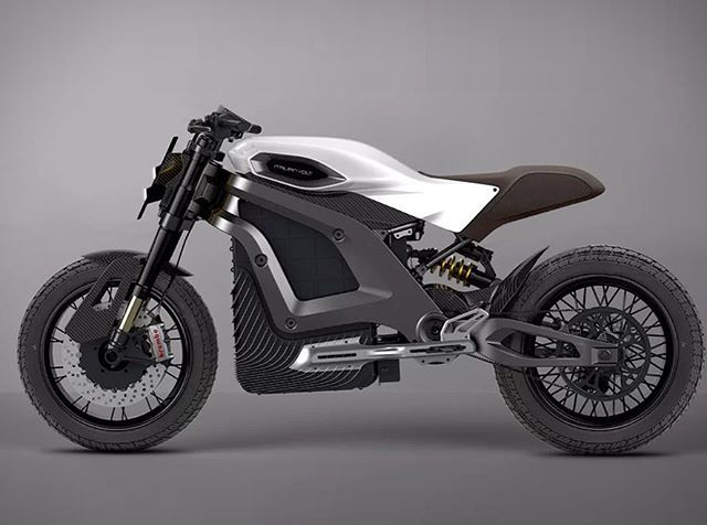 Elektrikli Motosiklet Italian Volt