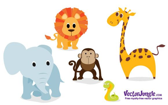 free vectors graphics - Free Vector Animals