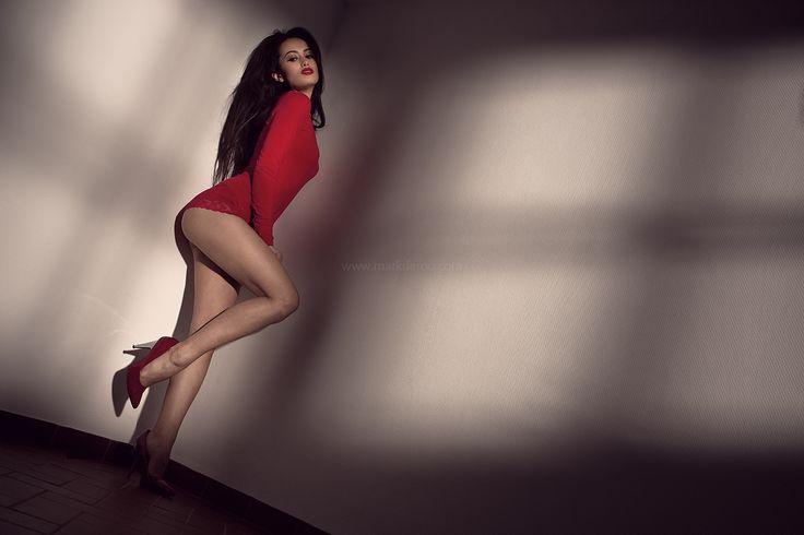 Red... My favourite colour  Photography: Mark de Roo  Model/ actress: Rebecca Danielle Hanser