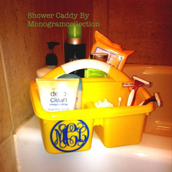 PERSONALIZED Shower Caddy Perfect for your by MonogramCollection