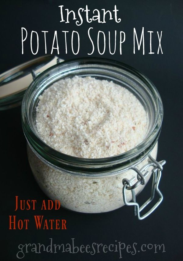 Instant mashed potato soup recipes