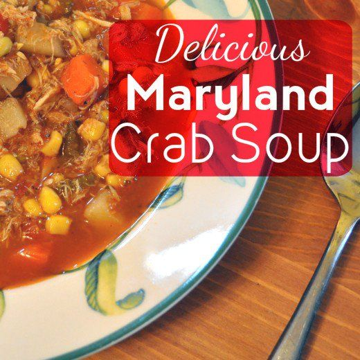 Best Maryland Crab Soup Recipe Ever                                                                                                                                                                                 More