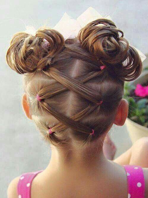 Dance hair