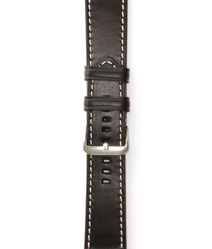 Leder | Schwarz Armband für die Apple Watch | BandWerk