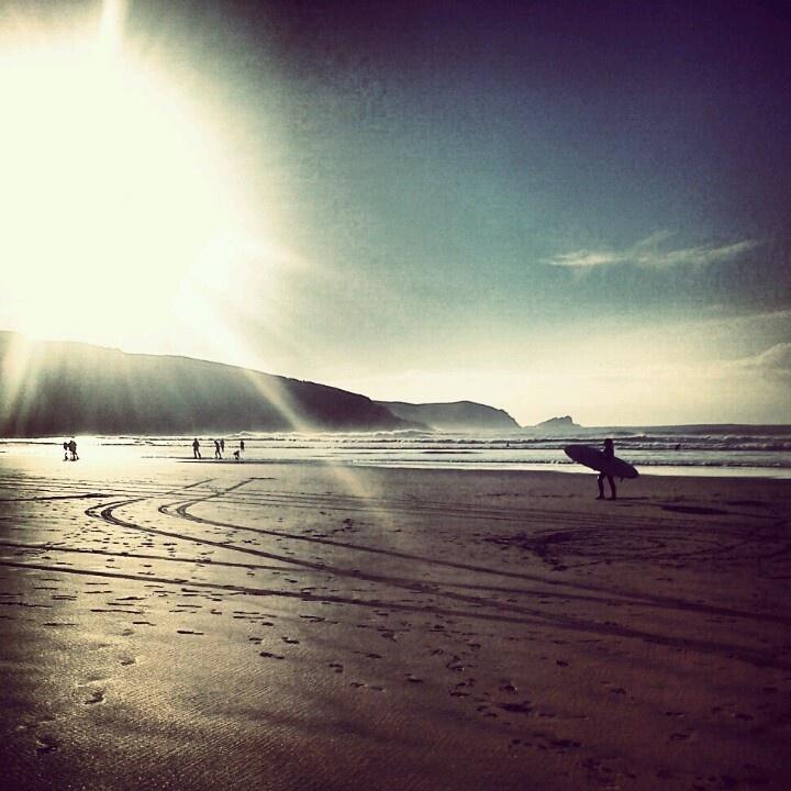 Fistral Beach.