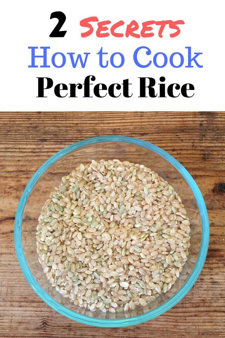2 Secrets How to Cook Perfect Rice - Kitchen Hack that WORKS!