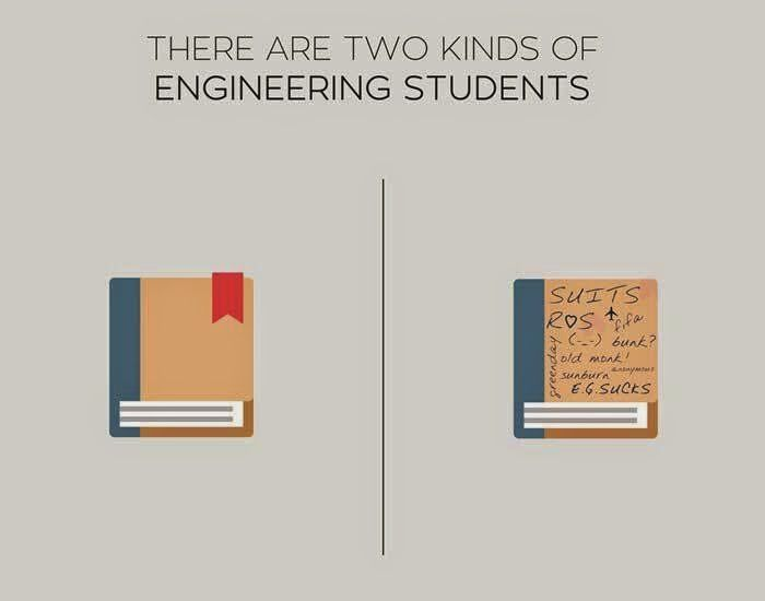 2 kinds of students
