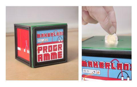 SKARBONKA Z RAMKĄ #3d #3dprinting #domlab #domlabPL #moneybox with #frame