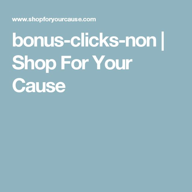 BonusClicksNon  Shop For Your Cause  Franchise Owners Wanted