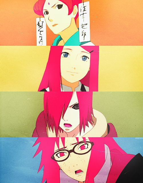 Uzumaki clan. Red hair. #naruto/ i don't know why but this makes me sad