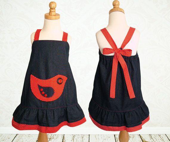Girls dress pattern PDF Childrens sewing by MyChildhoodTreasures, $7.50
