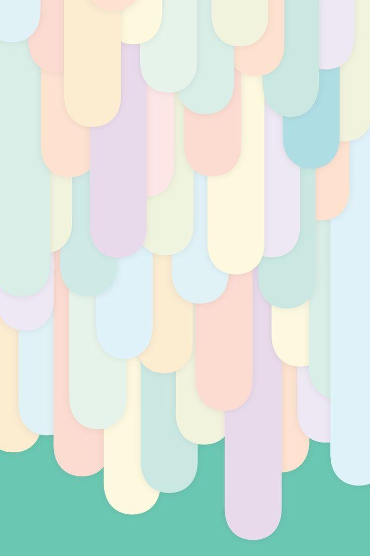 Cute Pastel iPhone Wallpaper Collection Papel de parede