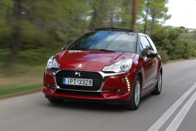 DS 3 Cabrio 1.2 PureTech 82 by drive.gr
