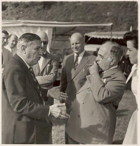 Assis Chateaubriand e Getúlio Vargas.