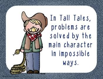 88 best tall tales images on pinterest tall tales teaching tall tales from americas wild west a literacy unit pronofoot35fo Gallery