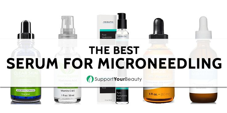 The Best Serum for Microneedling – 2017 Reviews & Top Picks - Check it out here https://supportyourbeauty.com/best-serum-for-microneedling/ on Support Your Beauty! #Serums #beauty