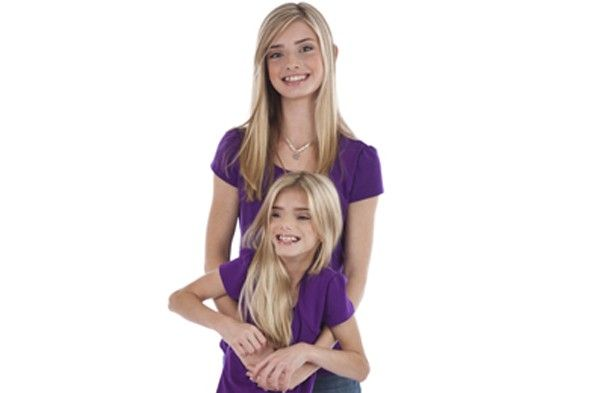 Sienna and Sierra Bernal are identical twins - but Sienna is half the size of her twin sister Sierra. The blonde-haired, blue-eyed teens age 13 look so similar - but one sister has rare primordial dwarfism. Primordial dwarfism is so rare that that there are only 200 people in the world known to have the condition. Sienna is the only primordial dwarf in the world to have an average sized twin.