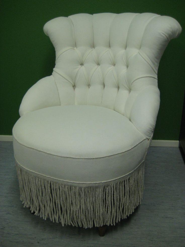 Emma-tuoli uudelleenverhoiltuna.