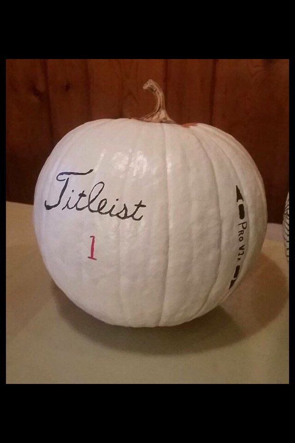 Titleist Pro V1 Pumpkin! | Brdie Golf News App