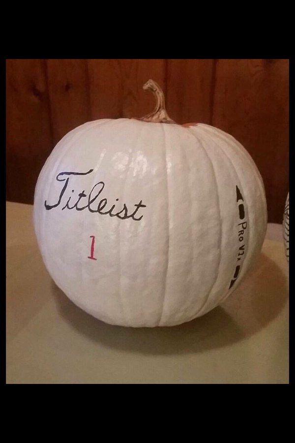 Titleist Pro V1 Pumpkin!   Brdie Golf News App
