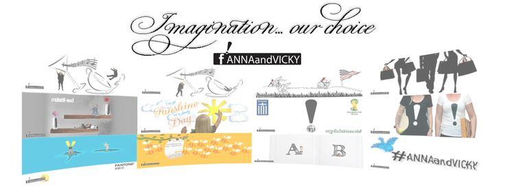 ! www.facebook.com/ANNAandVICKY  Imagination and inspiration from you have been our driving forces since our beginning in 2014! Thank you for trusting us! We continue in full power!