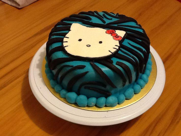 Hello kitty cake - AJ 7 years old nz enthusiast