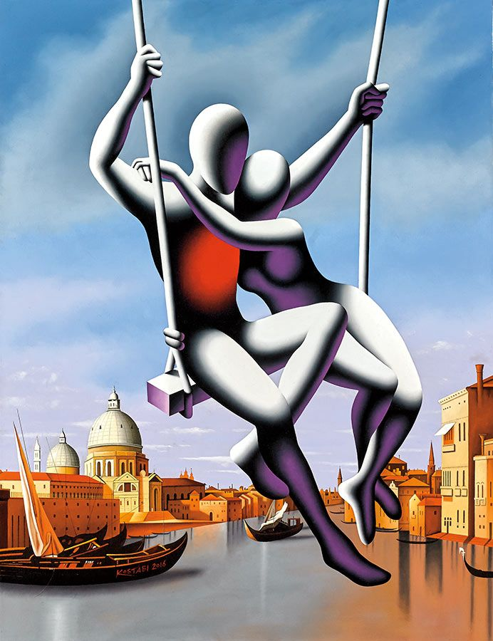 Discover the art of Mark Kostabi at Martin Lawrence Galleries