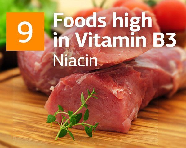 What is Vitamin B3 and Top Foods highest in Vitamin B3 (Niacin)