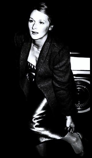 Meryl Streep at Studio 54