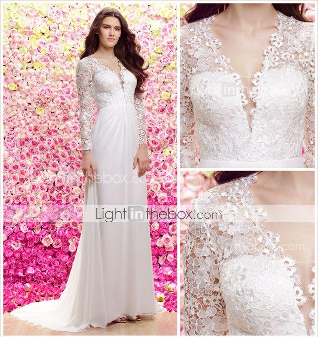 Mejores 27 imágenes de LightInTheBox Wedding Dresses en Pinterest ...