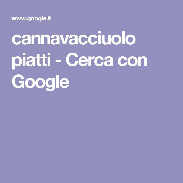 cannavacciuolo piatti - Cerca con Google