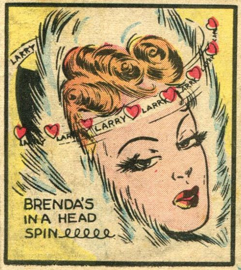 From Brenda Starr #3 (1948)Funny Paper, Comics Art, Favorite Comics, Vintage Comics, Comics Book, Comics Romances, Comics Strips, Romances Comics, Comics Genius