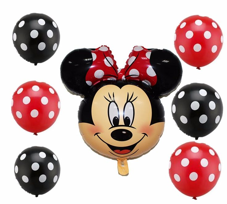 7pcs mickey minnie Mouse balloon polka dota latex for birthday party decoration ballons helium globos baloes minnie balloons #>=#>=#>=#>=#> Click on the pin to check out discount price, color, size, shipping, etc. Save and like it!