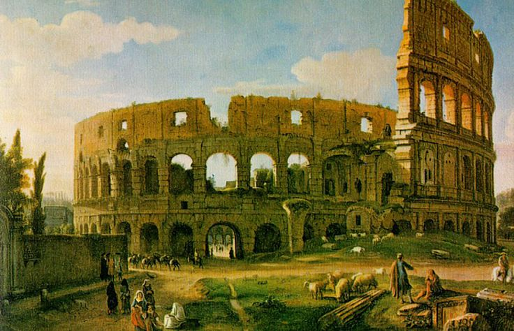 Gaspar Van Wittel, Colosseum from the Southeast, 1700