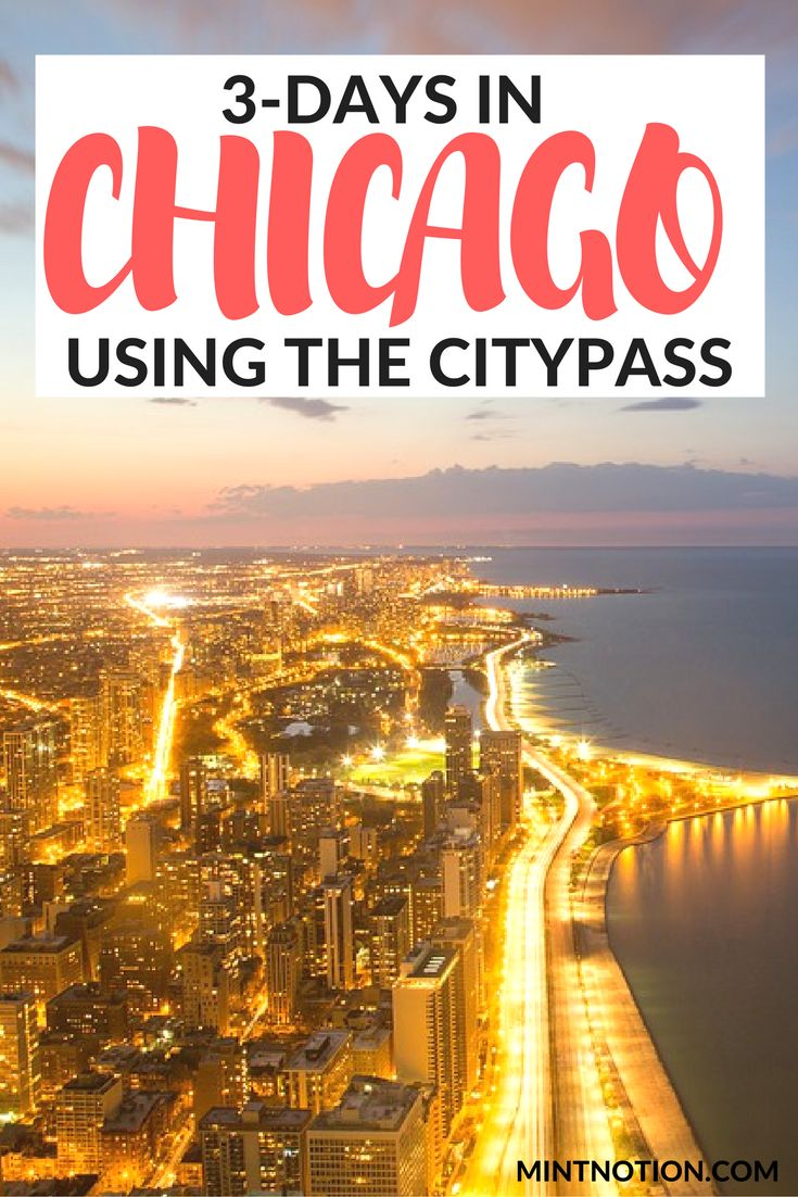 The perfect 3-day Chicago itinerary for first-time visitors using the Chicago CityPASS. This guide covers the top attractions in Chicago on a budget, including the Cloud Gate in Millennium Park (aka the bean)